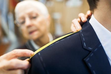 Length of jacket shoulder