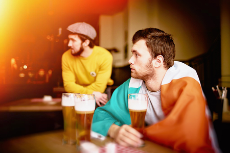 Sports Bar in Ireland Stock Photo