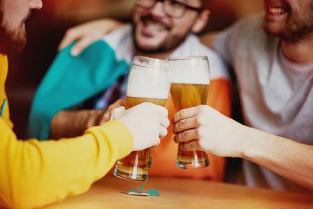 Friends Get Together for Craft Beer