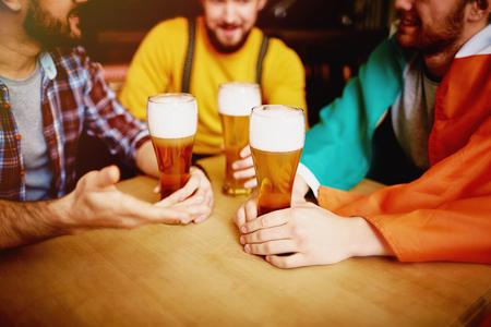 Friends Meeting in Irish Bar