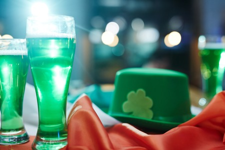 Symbols of St Patrick day