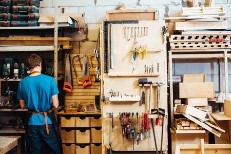 workroom: Carpenter in workroom