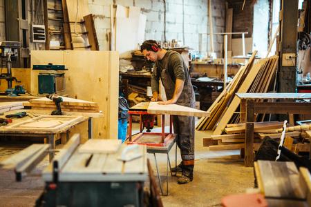 the workpiece: Preparing workpiece Stock Photo