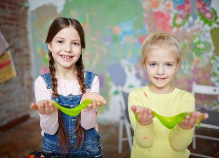 재미있는 여자애들 스톡 콘텐츠 - 74315683