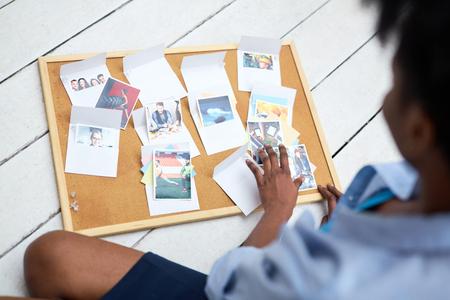 Photos in envelopes photo