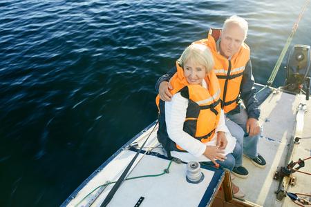 lifevest: Seniors sailing
