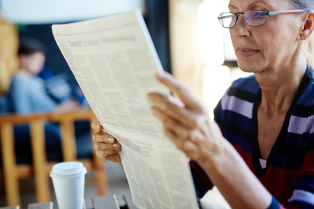 gazette: Reading news