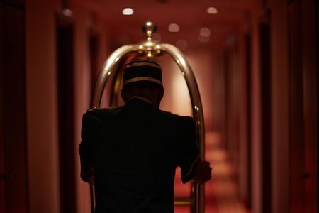 doorkeeper: Butler in hotel