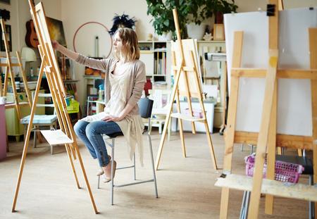 workroom: Drawing in workroom