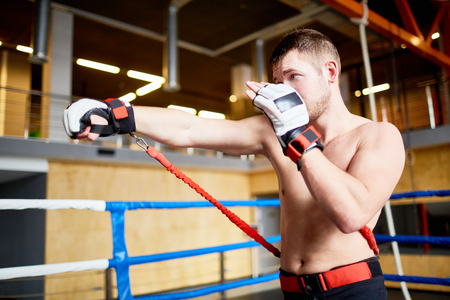 punched out: Fighting Workout in Gym