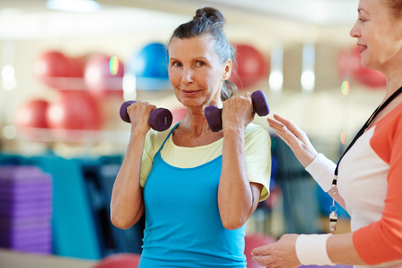 Physical exercise Stock Photo