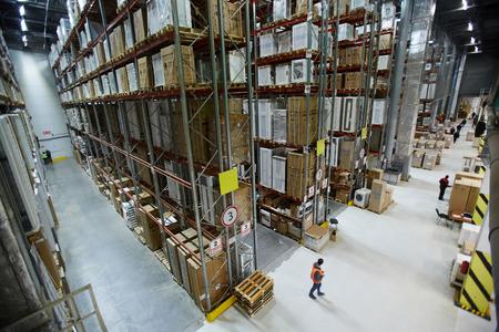 Modern warehouse 版權商用圖片