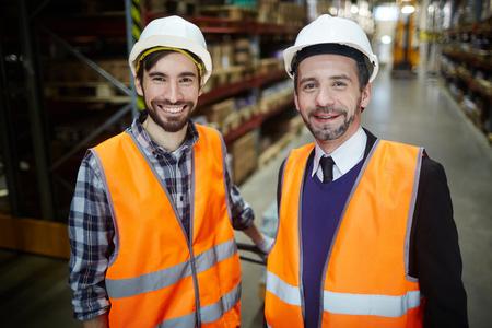 Storehouse employees