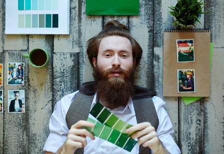 polygraphic: Portrait of Trendy Freelance Artist