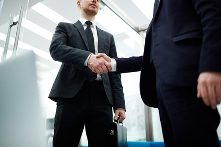 Gesture of trust Imagens