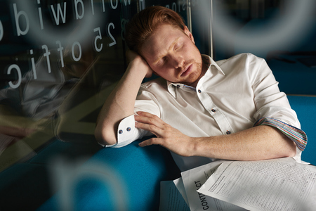 exhaustion: Exhaustion Stock Photo