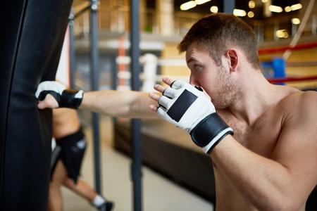 Mix-fight workout Stok Fotoğraf