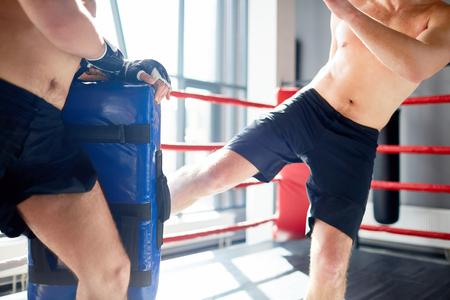 Boxing workout Stok Fotoğraf
