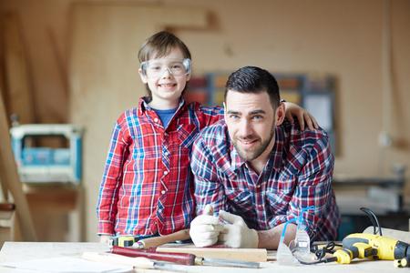 息子と父親