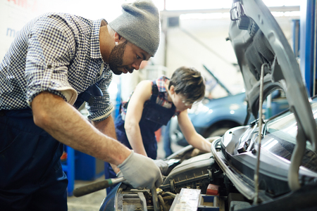 Repairing engine