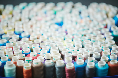 Colorful Sewing Spools