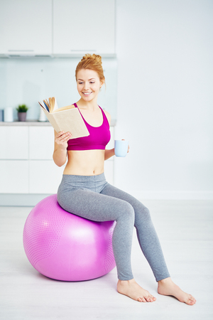 Fitness Workout in Morning at Home photo