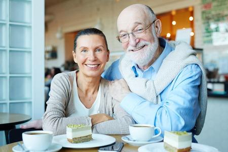 sweethearts: Couple of seniors