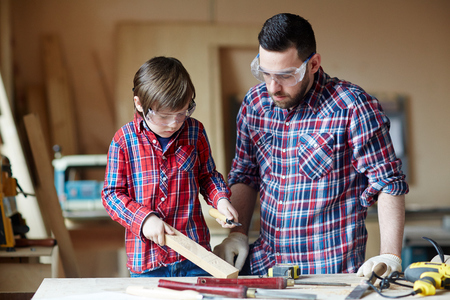 woodcraft: Wood carving Stock Photo