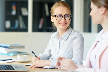 group  accountant: Managers talking