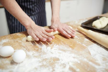 Making buns Фото со стока
