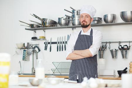 Jonge chef-kok