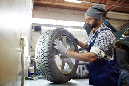 타이어 교환 서비스