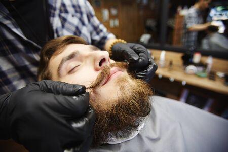 콧수염 배려 스톡 콘텐츠