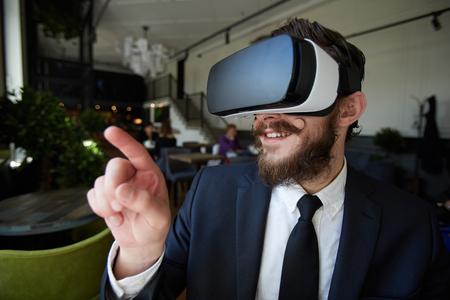 Entering virtual world