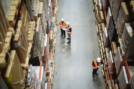 Warehouse Workers Stocktaking