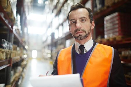 dispatcher: Portrait of Warehouse Manager