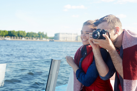 Shooting sights Stock Photo