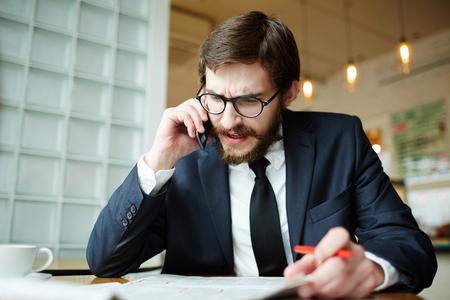 Calling employer