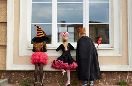 Halloween tricks Stock fotó