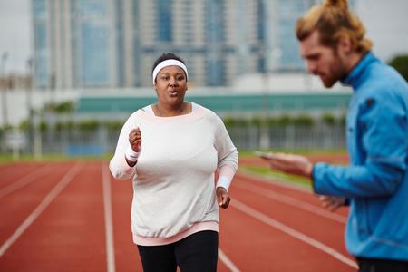 Running competitor