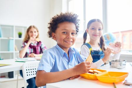 Hungry classmates