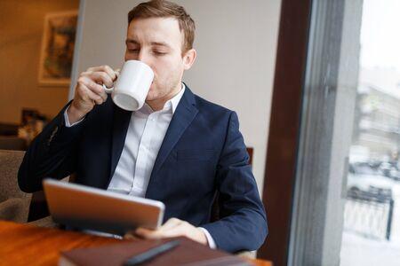 Networking at coffee break