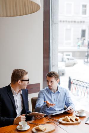 Having discussion