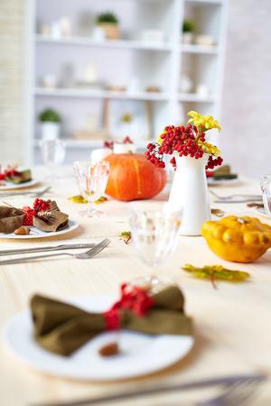 感謝祭の伝統 写真素材