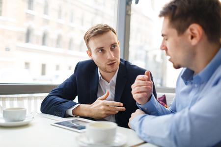 Brokers talking
