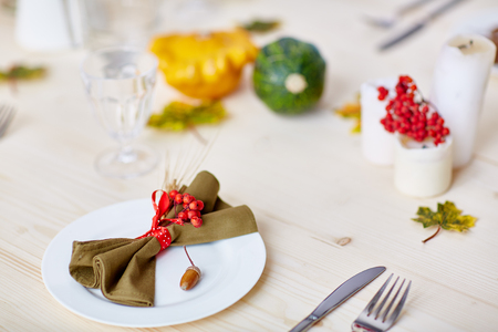Served for festivity Stock Photo