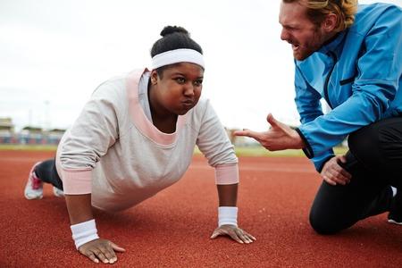 Difficult push-ups