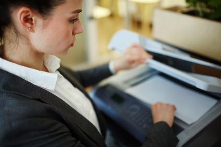 Using photocopier
