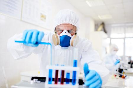Developing Vaccine at Laboratory Stock Photo - 87610218