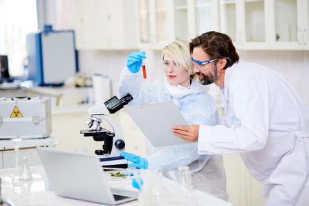 Creation of Cancer Vaccine Stock Photo - 87606310